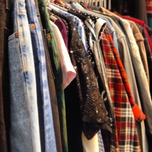 Clothes Show clothes rail
