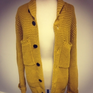 Pretty green cardigan